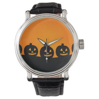 Halloween Pumpkins Wristwatch