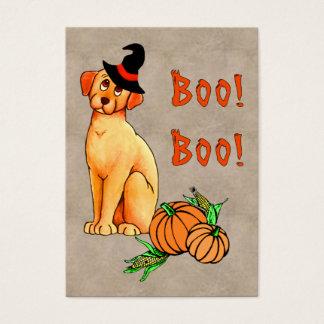 Halloween Puppy Dog Business Card