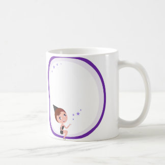 Halloween Purple Angel Witch Classic Mug