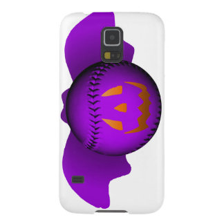 Halloween Purple Baseball Bat Galaxy S5 Cover