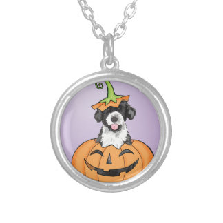 Halloween PWD Silver Plated Necklace