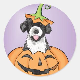 Halloween PWD Classic Round Sticker