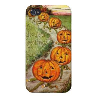 Halloween que saluda a Thee iPhone 4/4S Funda