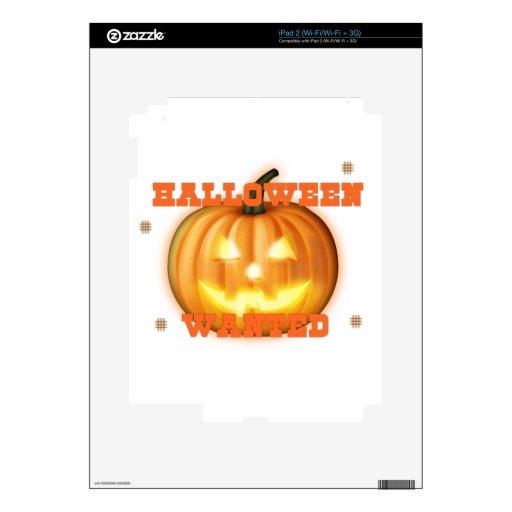 Halloween quiso skins para iPad 2