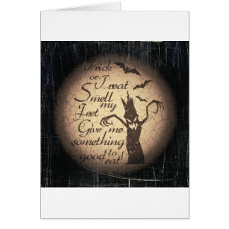 halloween quote card