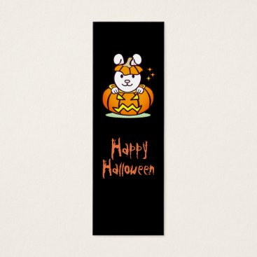 Halloween Themed Halloween Rabbit bookmark Mini Business Card