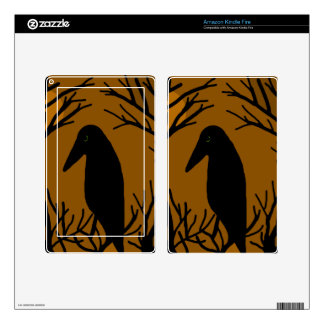 Halloween raven skins for kindle fire