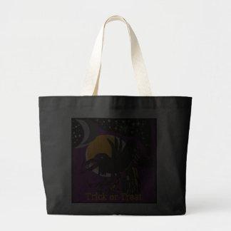 Halloween Raven Trick or Treat Bag