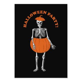 Halloween Ready Skeleton Card