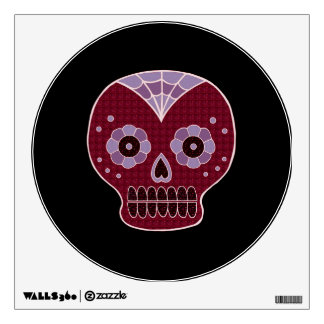 Halloween Red Skull Small Wall Decal by Janz