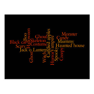Halloween redacta la postal
