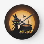 Halloween Reloj De Pared
