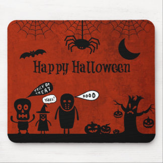 Halloween Retro Party Mousepads
