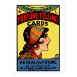Halloween Retro Vintage Fortune Telling Cards Post Cards