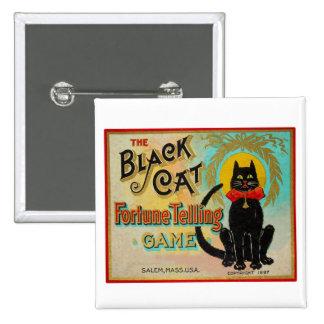 Halloween Retro Vintage Fortune Telling Game Pinback Button