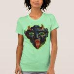 Halloween Retro Vintage Kitsch Devil Satan Lucifer T-shirt