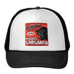 Halloween Retro Vintage Kitsch Scream Show Ape Mesh Hats