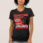 Halloween Retro Vintage Kitsch Scream Show Ape Shirt