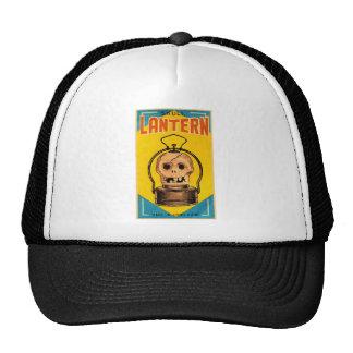 Halloween Retro Vintage Kitsch 'Skull Lantern' Hats