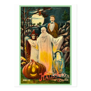 holly_ween Halloween Retro Vintage Kitsch Spooky Card