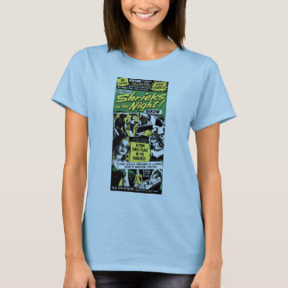 Halloween Retro Vintage Monsters Shriek Night T-Shirt