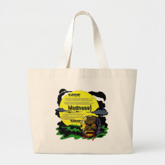 Halloween Retro Vintage Monsters Terror, Madness! Tote Bag