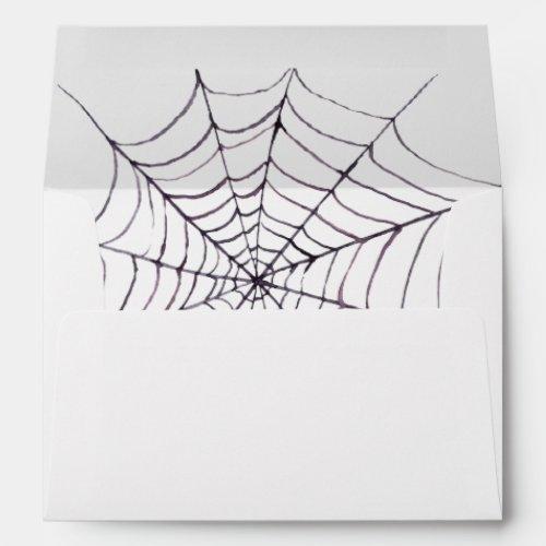 Halloween Return Address on Back Flap Envelope