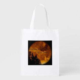 Halloween Reusable Bag Grocery Bag