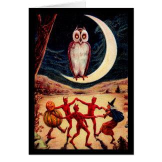 Halloween Revel Card