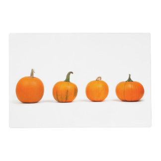 Halloween reversible (calabazas/palo) Placemat Tapete Individual