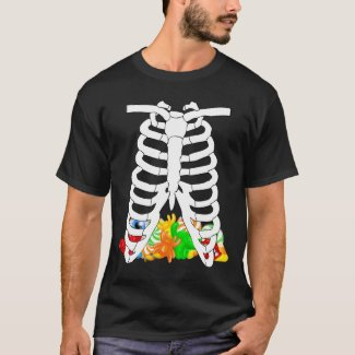 Halloween Rib Cage And Candy
