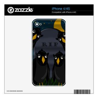 Halloween - RIP iPhone 4S Decals