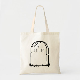 Halloween RIP Tombstone Tote Bags