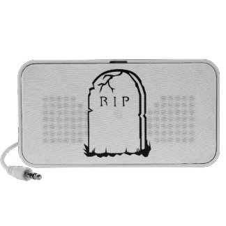 Halloween RIP Tombstone Mini Speaker