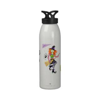 Halloween Rockin Witch Water Bottles
