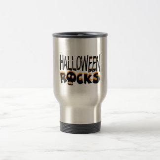 Halloween Rocks Travel Mug