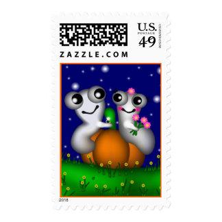 Halloween romántico sellos