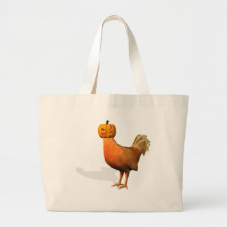 Halloween Rooster Canvas Bag
