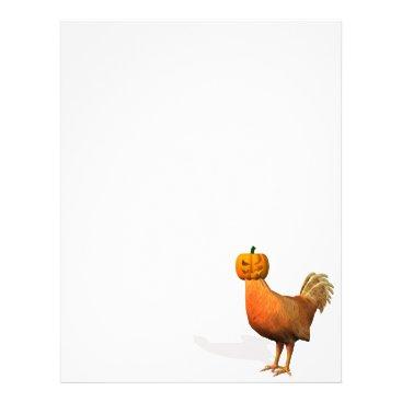 Emangl3D Halloween Rooster Letterhead