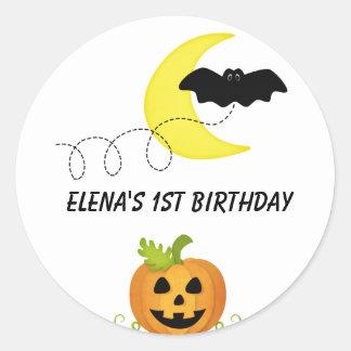 Halloween Round Stickers