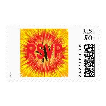 Halloween Themed Halloween RSVP Stamp