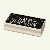 Halloween Rubber Stamp