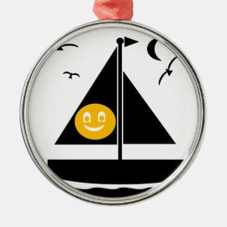 Halloween Sail Metal Ornament