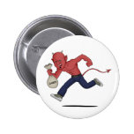 Halloween satan button