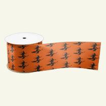 Halloween Satin Ribbon-Witch Satin Ribbon