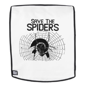 Halloween Themed Halloween Save Spiders Web Costume Backpack