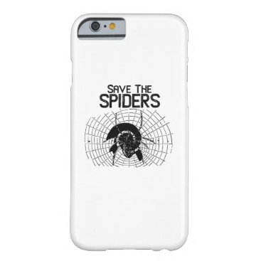 Halloween Themed Halloween Save Spiders Web Costume Barely There iPhone 6 Case
