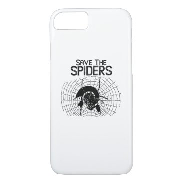 Halloween Themed Halloween Save Spiders Web Costume iPhone 8/7 Case