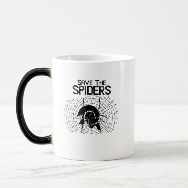 Halloween Save Spiders Web Costume Magic Mug