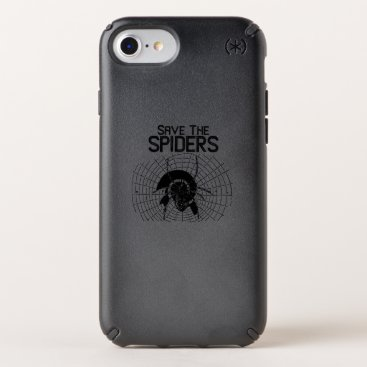 Halloween Themed Halloween Save Spiders Web Costume Speck iPhone Case